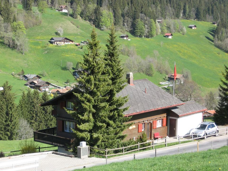Chalet Altenried in de zomer